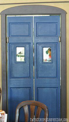 Interior Swinging Door Kitchens
