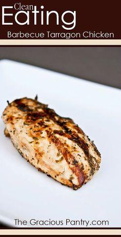 Barbecued Tarragon Chicken
