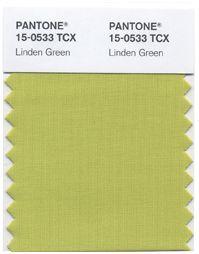 Linden Green Pantone fall 2013