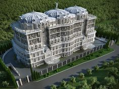 Palace of White Roses - Sochi, Russia.