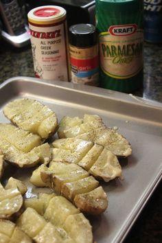Seasoned Roasted Potatoes - Easy and Frugal