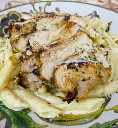 Grilled Cajun Ranch Chicken Pasta - the best grilled chicken pasta EVER!