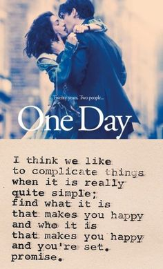 one day quote