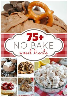 Over 75 No Bake Desserts from your favorite bloggers! PERFECT for summer time. | www.somethingswanky.com