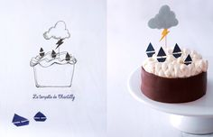 stormy weather cake
