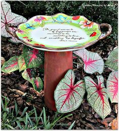 Pedestal Bird Feeder Garden Whimsy  As by GardenWhimsiesByMary