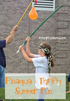 Pinaqua - thrifty summer fun, #Pinaqua, #waterfun, #water, #balloons, #summertime, #thrifty, #entertainingkids, #partyideas, #party, #waterp...
