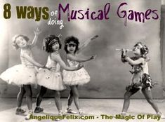 8 ways of doing games with Music @ AngeliqueFelix.com