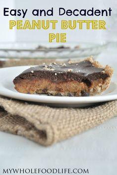 Peanut Butter Pie #veganMonster