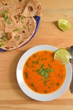 ... tomato and red lentil bisque