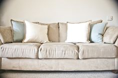 How to make couch cushions firmer