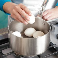 How To Boil Eggs-Southern Living
