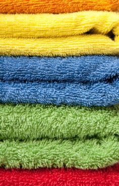 PLEASE WORK!!  How to get mildew out of towels.