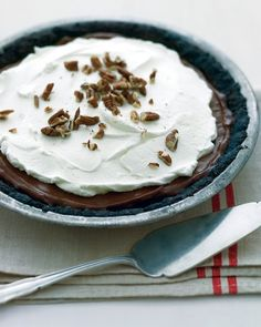 Mississippi Mud Pie - Martha Stewart Recipes