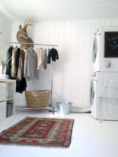 cute laundry room