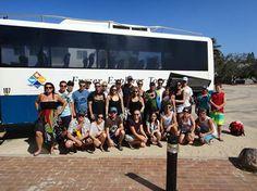 Terence T and his happy group #fraserexplorer #fraserisland #queensland #australia www.fraserexplorertours.com.au
