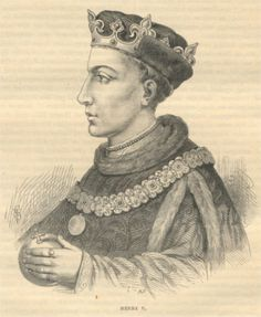 Henry V of England depicted in Cassell's History of England (1902).