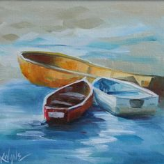 Whatever Floats Your Boat, painting by artist Kay Wyne