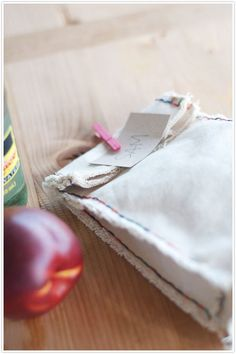 DIY: canvas lunch bag