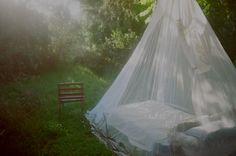 A wee outdoor room