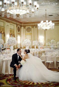 wedding photography, reception areas, wedding white, ballrooms, all white wedding, wedding photos, the bride, white weddings, photography studios