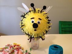 HOW TO MAKE A BEE Piñata - by Mr. Otter Art Studio.   SUBSCRIBE, and don't forget to find Mr. Otter Art Studio on FACEBOOK, here: https://www.facebook.com/otterstudio