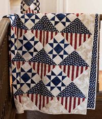 In Honor Of by Diane Tomlinson is an easy-to-make pattern to honor and comfort a friend,relative or stranger to let them know their service is appreciated.