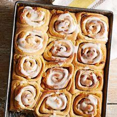 Orange-Honey Sweet Rolls: Hearty rolls from a Kansas recipe. More breakfast breads: http://www.midwestliving.com/food/breakfast/breakfast-breads/page/21/0