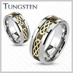Celtic Tungsten Band