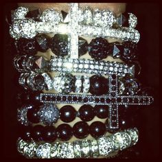 Created By 'Me!' Blinged Bracelets!