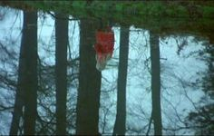 """DON'T LOOK NOW (1973)  Laura: """"This one who's blind. She's the one that can see.""""  One of the all-time cult horror classics, this Nicolas Roeg-directed chiller whips up an atmosphere of almost unbearable tension concluding with a murder of surreal violence. Donald Sutherland and Julie Christie play Laura and John Baxter, a bereaved couple who believe they are being haunted by their dead daughter - clad all in red - as she suddenly appears alongside canals and down alleyways in a wintry Venice."""