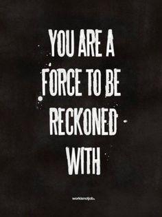 A force.
