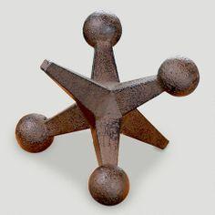 One of my favorite discoveries at WorldMarket.com: Cast Iron Jack Doorstop