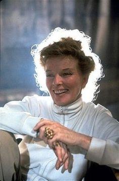 Katherine Hepburn...what an inspiring woman she was.