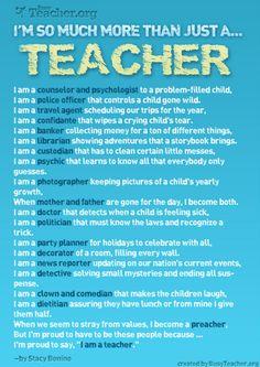 A Teacher is...