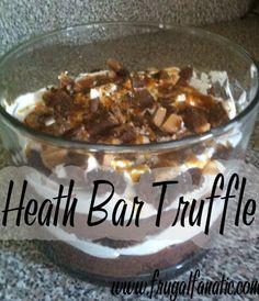 Dessert Recipe: Heath Bar Truffle