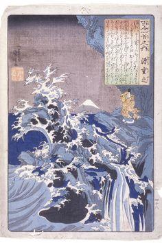 Utagawa Kuniyoshi, The 100 Poets: Minamoto Shigeyuki, n.d.