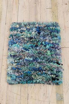 rag rugs, shag rug, floor, the office, mixed media