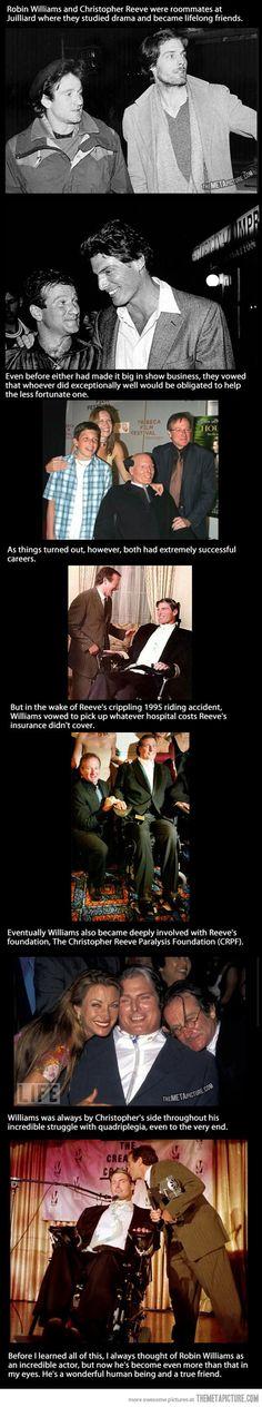 Robin Williams: A True Best Friend…