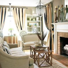 Cozy and efficient are two words we use to describe a small space! Five more tricks: http://www.bhg.com/decorating/small-spaces/strategies/small-space-living/?socsrc=bhgpin071214smallspaceliving