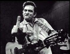 Johnny Cash - pic on my favorite t-shirt! atta boy my man in black :)