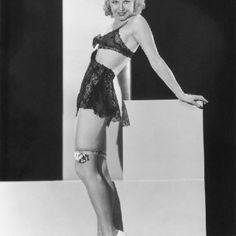 Ginger Rogers 1930s lingerie