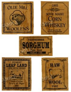 Pantry Labels 1
