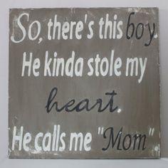 Mother & son bond...