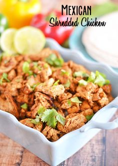 Mexican Shredded Chicken on MyRecipeMagic.com