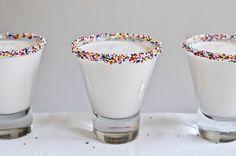 birthday cake martini