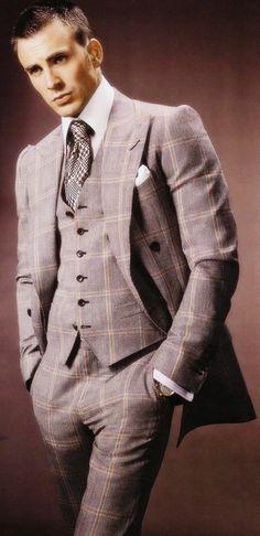 ford suit, patterns, menfashion, style, chrisevan, chris evan, men fashion, men suits, tom ford