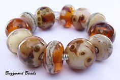 Choca Mocha bracelet bead collection and 75 inch by BuzzwordBeads, £88.00