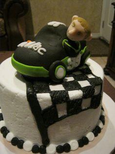 Carl Edwards Nascar cake