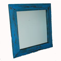 Wood Mirror Blue            by Modelli Creations